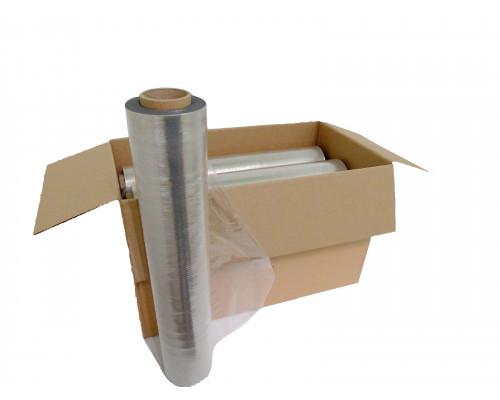 Стретч пленка для ручной упаковки «вторичка» (изготовлена с частичным добавлением вторичного сырья) 2,2 кг