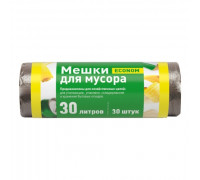 Мусорный пакет ПНД 30л/30шт