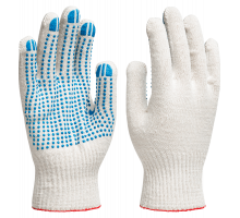 перчатки ХБ с ПВХ покрытием (5нит.7.5кл.)